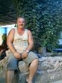 Мой муж во дворе нашего дома
