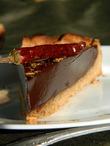 Шоколадный тарт с перцем от Эрика Кайзера