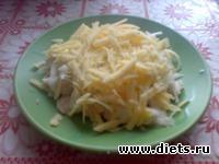 Салат из курицы с майонезом    БЛ  фаза 1