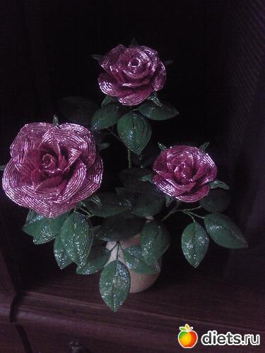 Как сделать розу из бисера : пошаговые мастер -классы и схемы плетения для