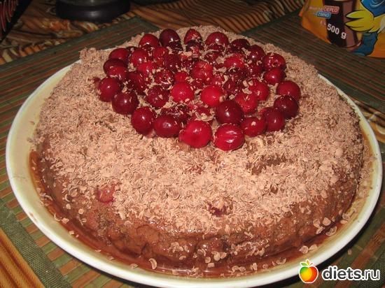 """Торт """"Пьяная вишня в шоколаде"""", альбом: Я готовлю"""