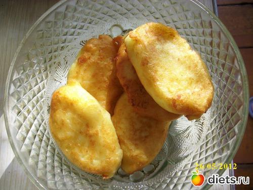 пирожки из картофельного пюре с начинкой рецепт с фото