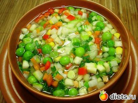 Овощной суп для похудания