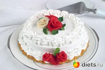 Крем для торта для розочек рецепты