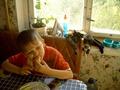 Хозяин, когда тебе уже надоест эта диетическая пища? Мой сын Никита, который любит бутерброды, но все бутерброды он ест исключительно с овощами, огурцы на тарелке это доказуют)))