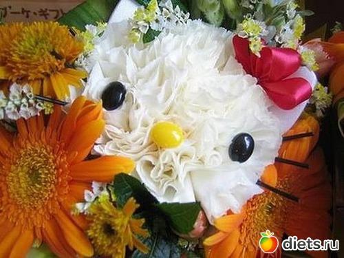 зверюшки картинки с цветами