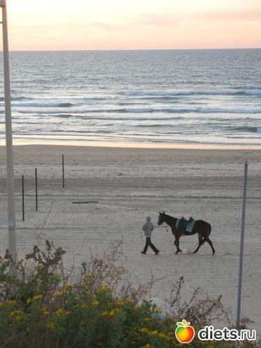 Вечерний пляж.Бат ям.Израиль, альбом: Мой город