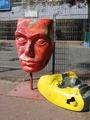 Городская скульптура.Бат ям.Израиль