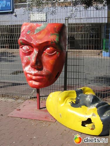Городская скульптура.Бат ям.Израиль, альбом: Мой город