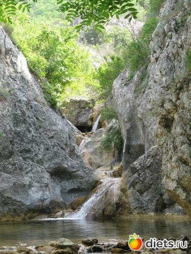 Водопад – «Царевна Бага», альбом: Водопады Крыма.