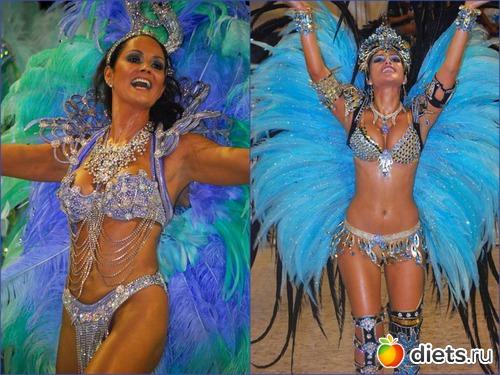 Бразильский карнавал в мини бикини