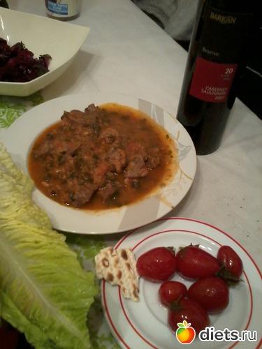 Чашушули-грузинская кухня (можно на диете Дюкана), альбом: Я готовлю.