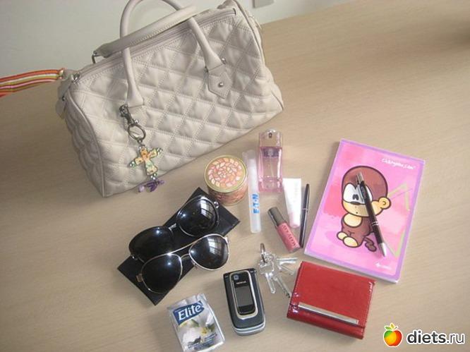 Женская сумочка что в ней