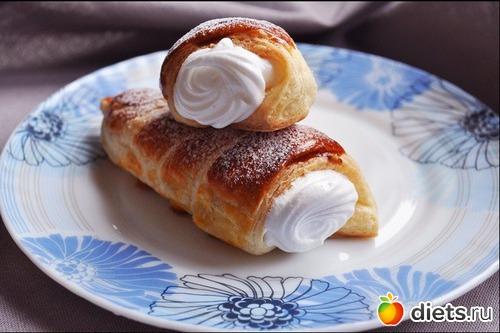 Слоеное тесто для трубочек рецепт фото