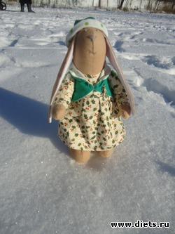 рождественский зайка