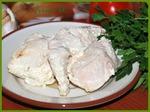 Куриная грудка, маринованная  в кефире