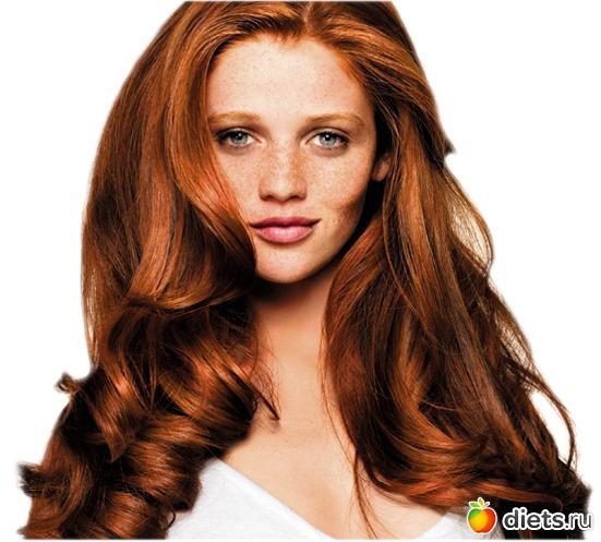 Цвет волос рыже коричневый фото