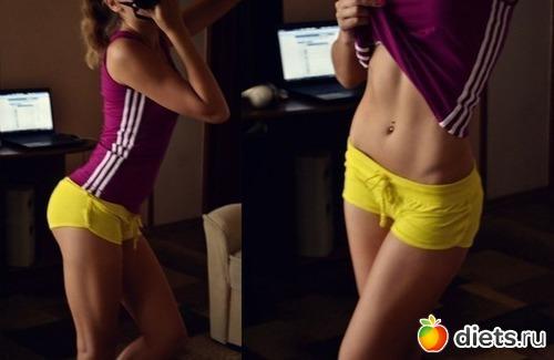 как убрать жир с попы упражнения