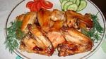 Куриные крылышки в медово-соево-чесночном соусе