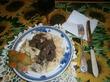 Тальятелле с куриной печенью