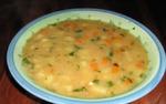 Суп из чечевицы.