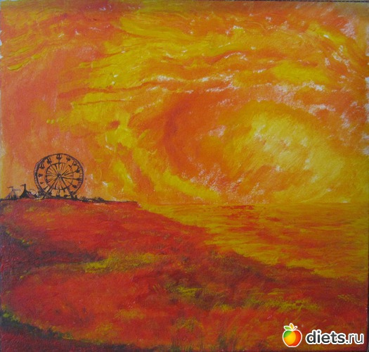 *Шапито*, продано - возможен повтор, альбом: Вернисаж картин Дарьи Тундры  (Дарья Калита)