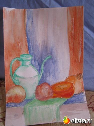 *Слоненок*, акварель,бумага, А4, альбом: Вернисаж картин Дарьи Тундры  (Дарья Калита)