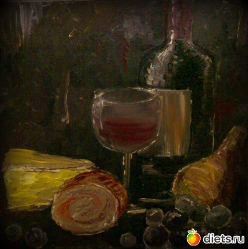*Вдохновение*, масло, лен на подрамнике, 25х25, альбом: Вернисаж картин Дарьи Тундры  (Дарья Калита)