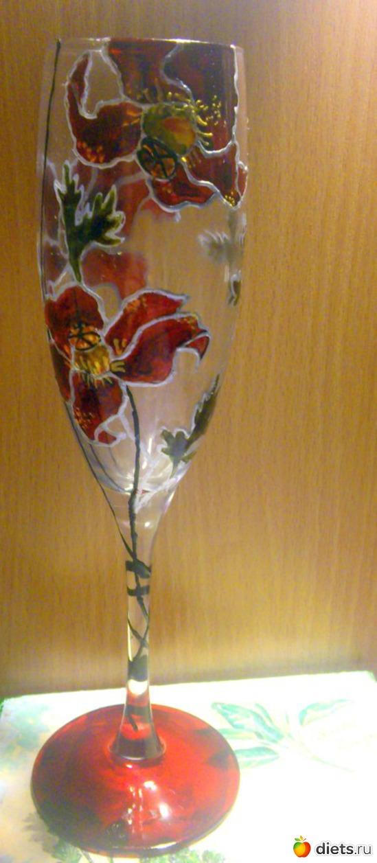 Роспись по стеклу, альбом: Вернисаж картин Дарьи Тундры  (Дарья Калита)