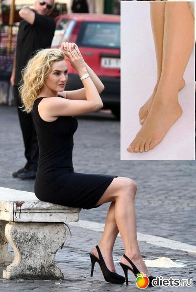 Пальцы ног перис хилтон