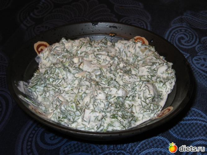 Салат петрушка с укропом, альбом: Я готовлю.