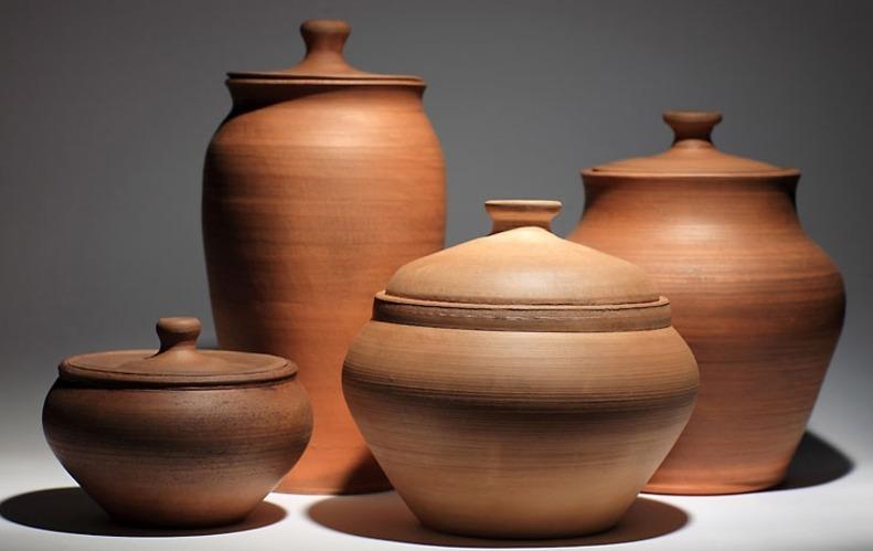 картинки глиняная посуда