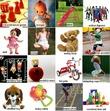 Учим английский в картинках. Детские игрушки и развлечения
