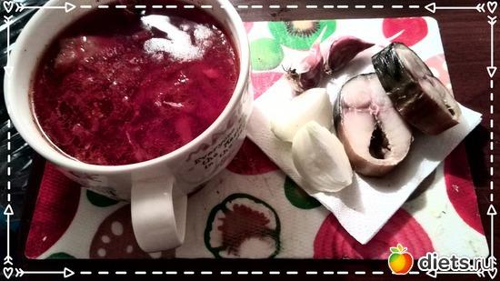 Дю-Борщ, скумбрия и витамины - лук, чеснок!, альбом: Что я ем