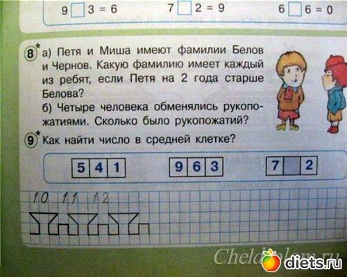 Самая тупая задача по математике