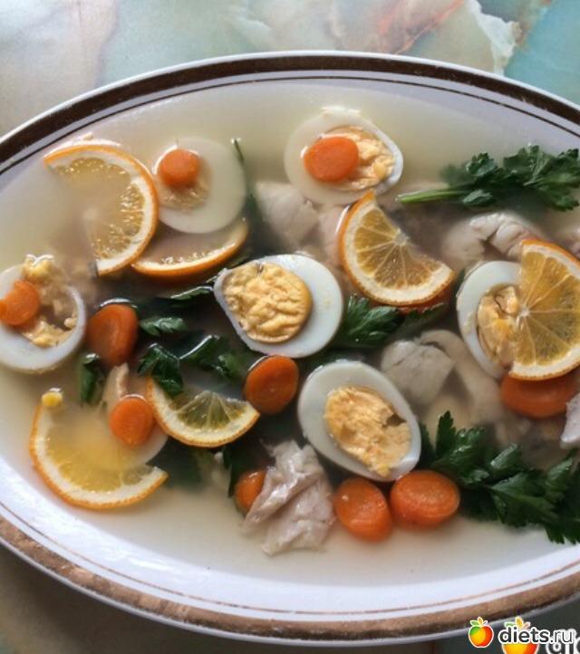 заливное из морепродуктов рецепт с фото оранжевый