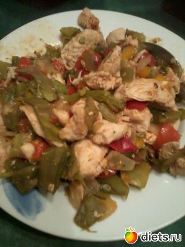 Куриная грудка с овощами, альбом: Я готовлю.