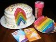 Радужный тортик
