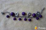 Общение. Фиолетовый браслет.