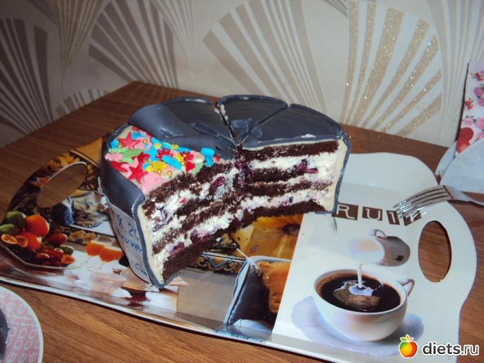 Торт на жестяную свадьбу