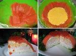 """""""Рыбный торт"""" для гостей)"""
