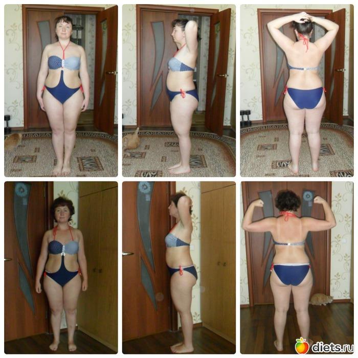 раздельное питание фото до и после