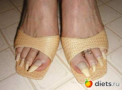 Длинные ногти на ногах фото, домашнее фото ебли в анал