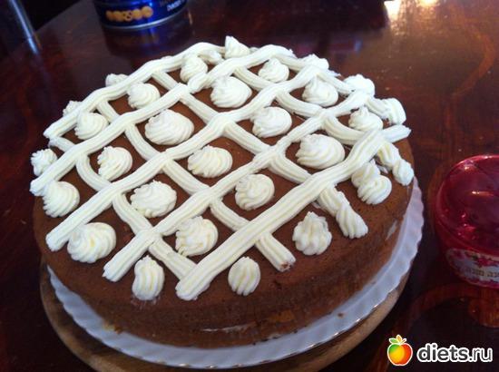 Медовый тортик с кремом, альбом: Я готовлю.