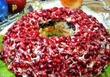 Салат Гранатовый Браслет с курицей - Новогодний салат
