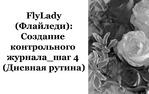 Создание Контрольного журнала. Шаг 4.