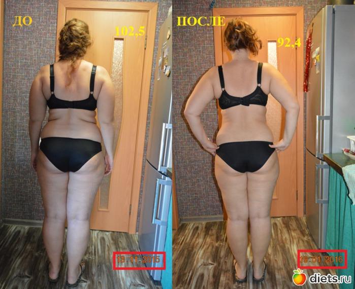 Эффективное похудение фото до и после