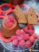Ржаные кексы на квасе в СВЧ за 3 минуты