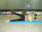 «Тягучий» фитнес или Упражнения с широкой резиновой лентой