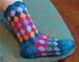 Первая проба носка энтерлаком